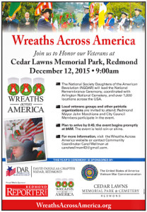 Wreaths Across America news ad